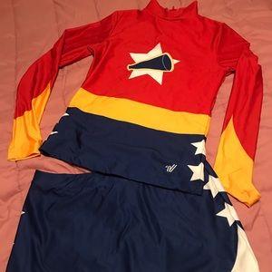 Varsity Cheerleaders Outfit